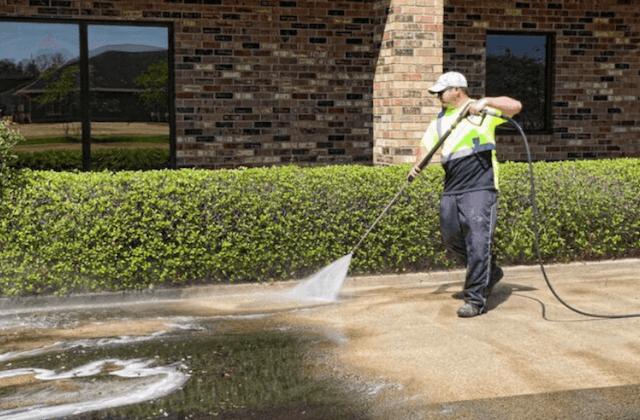commercial pressure wash