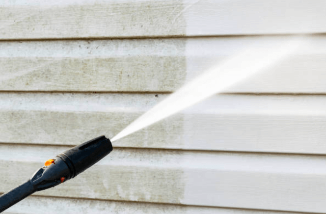 power wash home